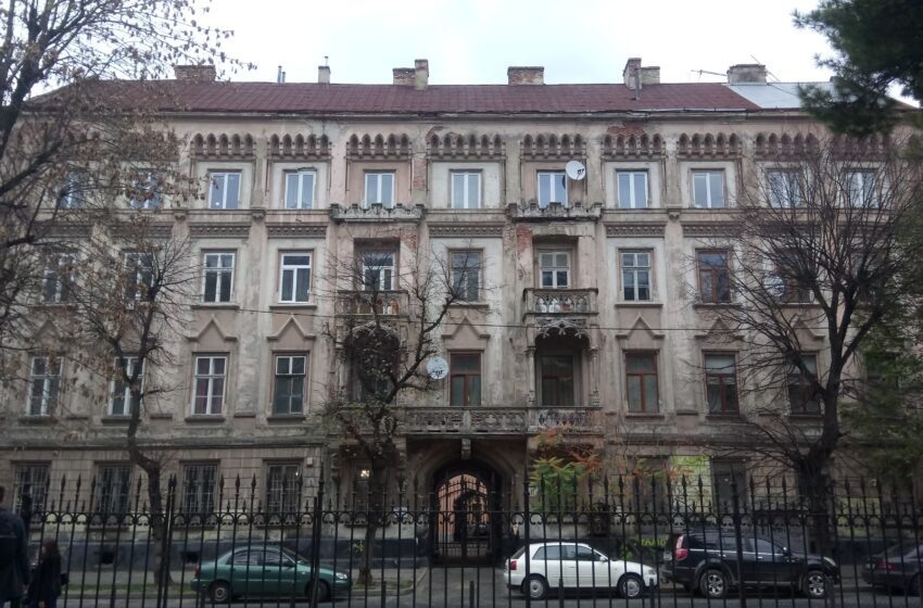 Реставрація фасаду вул. Стефаника, 11 – обличчя майбутньої міської галереї