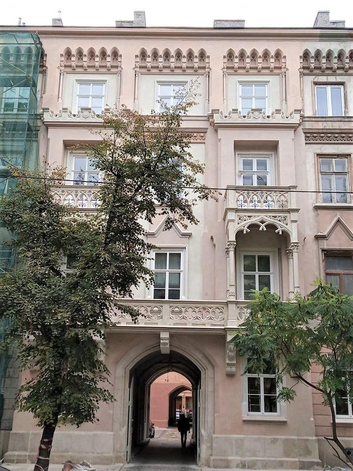 stefanyka 11 3 - Ремонтно-реставраційні роботи на вул. Стефаника, 11