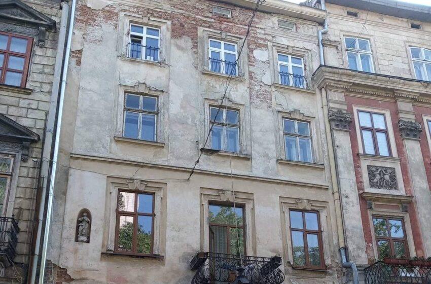 У Львові відновлять фасад кам'яниці на площі Ринок