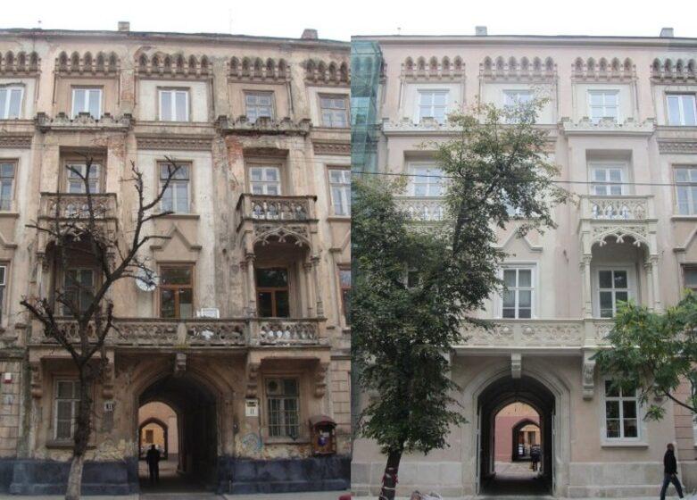 Реставрація першого неоготичного будинку у Львові